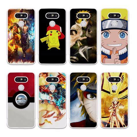 Anime Casing Lg G4 Custom anime japanese pokemons design white phone cover for lg g5 g4 g3 v20 v10 in