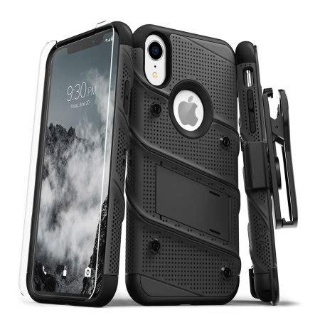 zizo bolt iphone xr tough screen protector black reviews