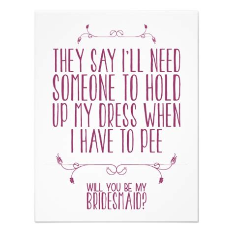 would u be my quotes will you be my bridesmaid ideas secret wedding