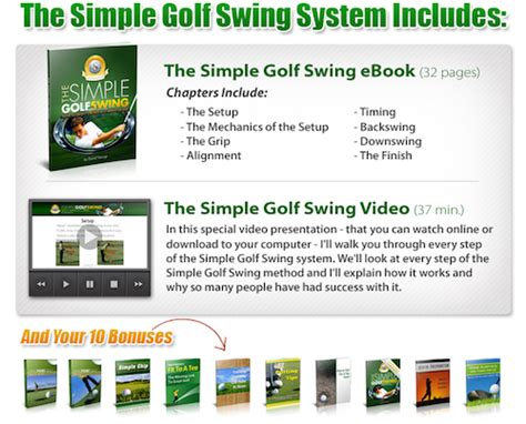 the simple golf swing review simple golf swing review released by david nevogt
