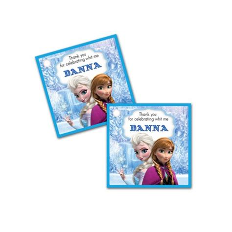 printable frozen gift labels printable frozen personalized birthday party favors gift