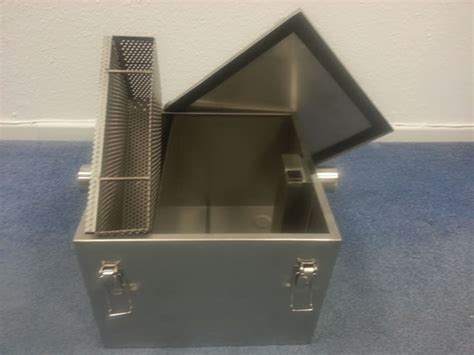Single Sink Table Grease Trap Stainless Steel bsgt3 stainless grease trap single sink