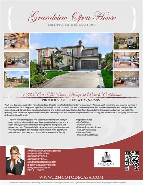How To Make A Pdf Real Estate Flyer Step By Step Turnkey Flyers Home Flyer Template