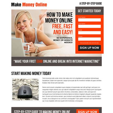 How To Make Fast Easy Money Online Free - how to make money from home fast and easy free howsto co