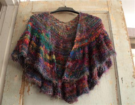 knitting pattern silk yarn fiber crush recycled sari silk yarn