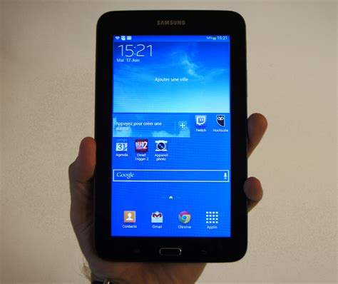 samsung galaxy tab 3 lite test complet tablette