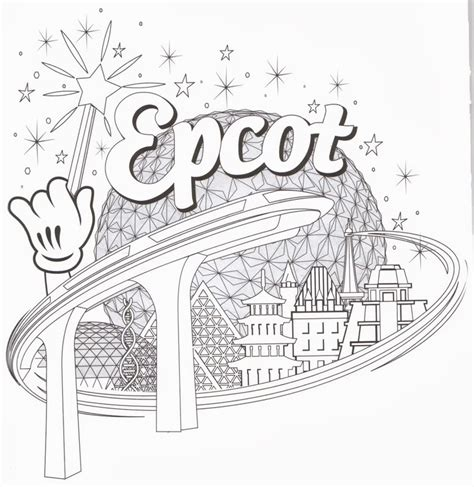 disneyland map coloring page coloring page disney world az coloring pages disney
