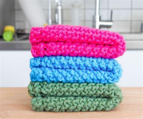 easy knit dishcloths easy knit dishcloth 3