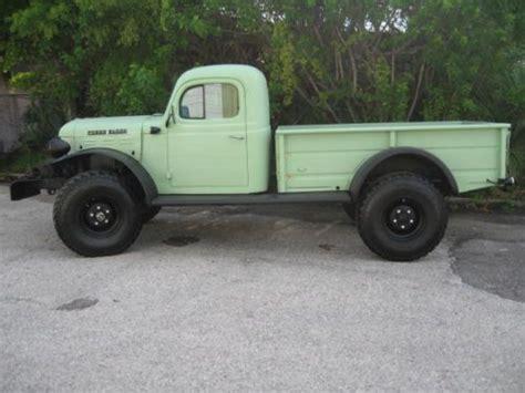 1964 dodge power wagon ambulance straight 6 4speed 4x4 buy used 1961 dodge power wagon wm300 4x4 pickup truck in
