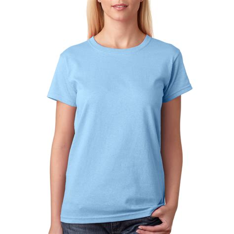 light blue t shirt wholesale custom logo screen printed bulk personalized