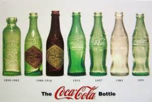 original color of coca cola coca cola bottle design progression