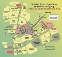 bristol motor speedway map bristol tn us mappery