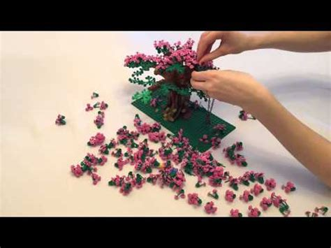 How To Make A Cherry Blossom Tree Out Of Paper - building a cherry blossom tree out of lego