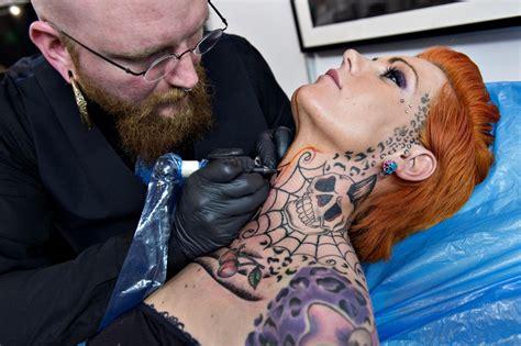 Ink Al i tatuaggi pi 249 strani al copenhagen ink festival