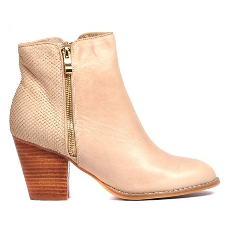 beige ankle boots wardrobe mag