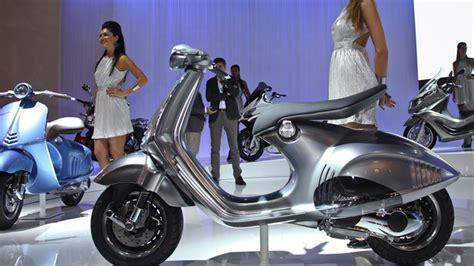 Motorrad Und Scooter Handel Oelde by Piaggio Und Vespa Scooter Neuheiten Eicma 2012