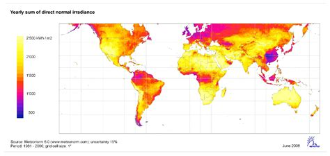 strahlungskarten und sonneneinstrahlung angebot photovoltaik