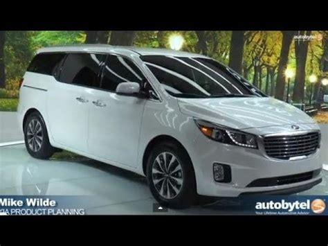 New Kia Minivan 2015 by All New 2015 Kia Sedona Minivan Overview New York
