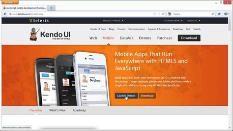 build a native android ui ios ui with xamarin forms kendo ui mobile and icenium build native looking ios