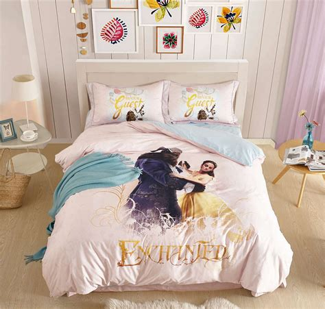 And The Beast Bedroom Set by 100 Cotton Princess Bedding Set And The Beast