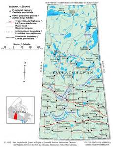 saskatchewan canada map canada provinces