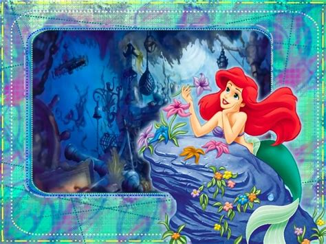 wallpaper disney little mermaid disney little mermaid wallpaper
