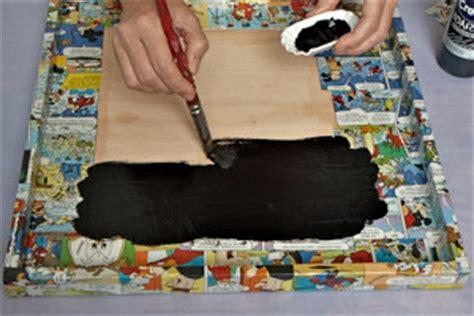 tafel basteln diy bastelidee tafel aus holzleinwand mit tafelfarbe
