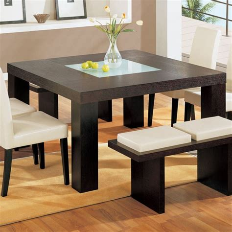Oak Kitchens Designs by Global Furniture Square Dining Table In Wenge Dg020dt