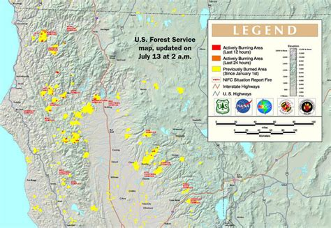 active fire mapping program updated highway 299 closed tonight