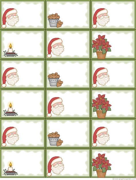 printable kris kringle tags dulces momentos etiquetas navidad