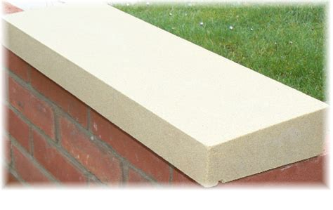 garden wall coping stones strong bricks for top of garden wall page 1 homes