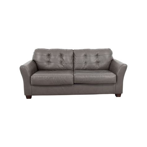 66 Off Ashley Furniture Ashley Furniture Gray Tufted Tufted Gray Sofa