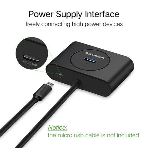 Ugreen 4 Port Usb 3 0 Hub ugreen usb hub 3 0 external 4 port usb splitter with micro