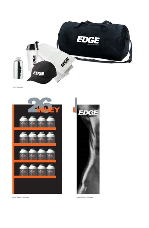q sports supplements edge sports supplements by aaron st at coroflot