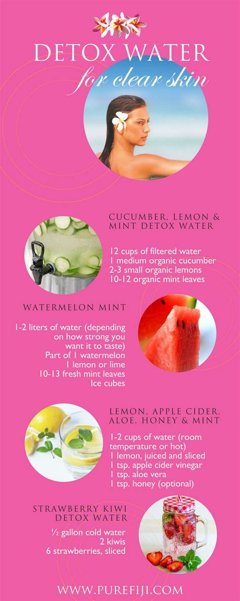 Detox Diet Plan For Glowing Skin by 1000 Ideas About Easy Detox Cleanse On Easy