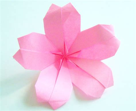 Origami Flower For - origami origami cherry blossom