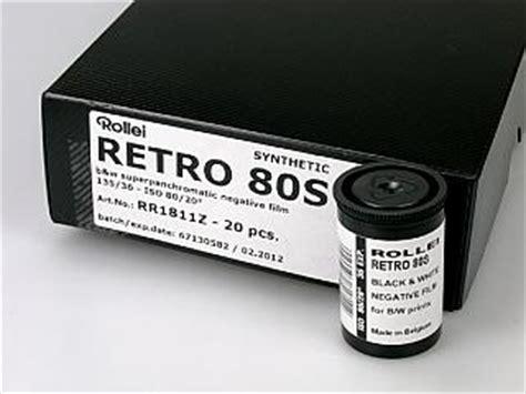 Roll 35mm Rollei Retro 80s rollei retro 80s iso 35mm x 36 exposure single roll