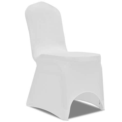 housse de chaise blanche mariage la boutique en ligne housse blanche extensible pour chaise