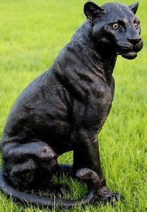 black panther statue  tooo funny black panther