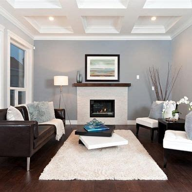 Gray Walls Brown by Sofa Light Blue Grey Walls Living Rooms