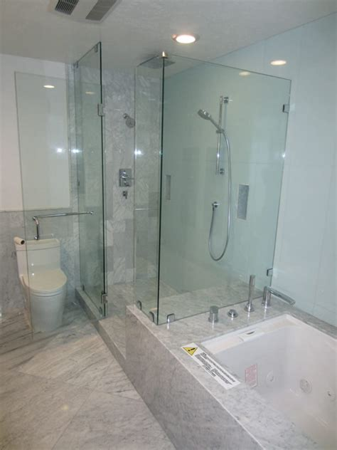 Shower Glass Replacement by 3 8 Glass Shower Enclosure Installation Patriot Glass And Mirror San Diego Ca