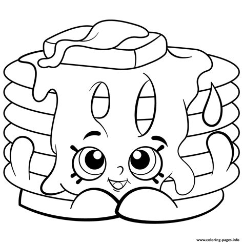 shopkins coloring pages you can print pamela pancake free printable shopkins season 2 coloring