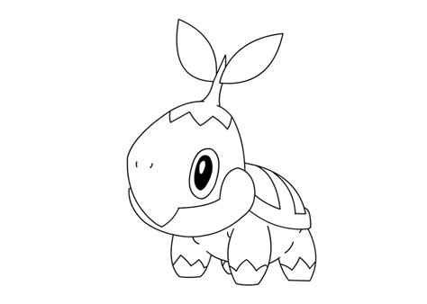 pokemon coloring pages turtwig turtwig pokemon coloring pages