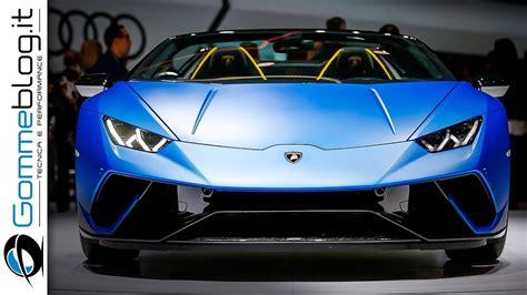 Lamborghini 9 Made by Lamborghini Hurac 225 N Performante Spyder How It S Made