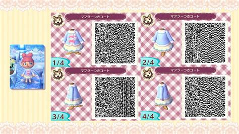 animal crossing new leaf qr codes hair animal crossing new leaf super cute kawaii outfit qr code