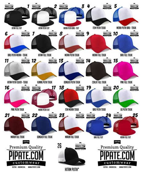 Topi Custom Trucker by Sablon Topi Custom Trucker Hat Sablon Topi Desain