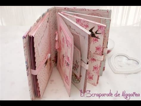 Tutorial De Scrapbook En Español | tutorial recetario scrapbooking youtube