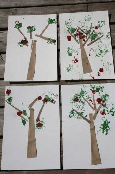 wine cork sted apple tree craft i heart crafty things pinterest the world s catalog of ideas