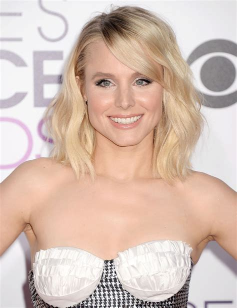 kristen bell kristen bell at 43rd annual people s choice awards in los