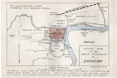 sketches in the foreign settlements and city shanghai classic reprint books map of china and shanghai beijing and other